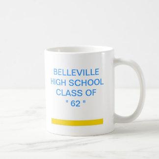Clase de secundaria de Belleville de 62 Taza