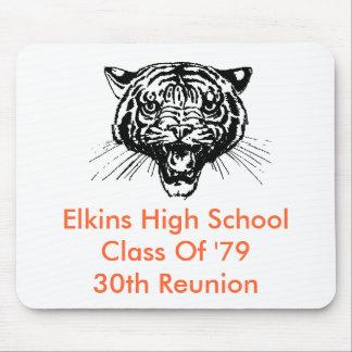 Clase de secundaria de Elkins 'de trigésimo ratón  Tapetes De Raton