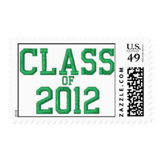 Clase de sello verde de la graduación 2012