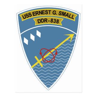 Clase de transmisión Destroye de USS Ernesto G. Postales