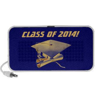 Clase del altavoz de la graduación de 2014