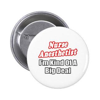 Clase del Anesthetist de la enfermera… de una gran Pin