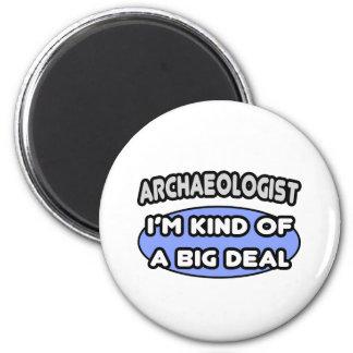 Clase del arqueólogo… de una gran cosa iman de nevera