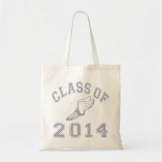 Clase del atletismo 2014 - gris 2 bolsa de mano