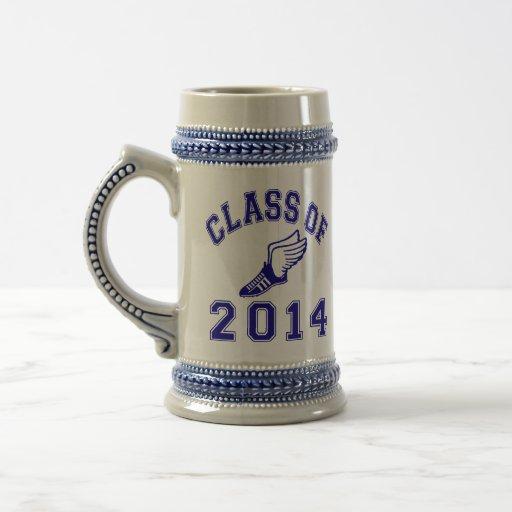Clase del atletismo 2014 tazas de café