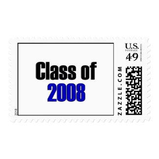 Clase del azul 2008 sellos
