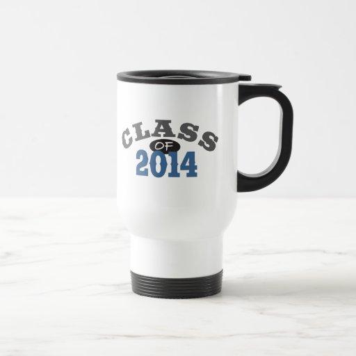 Clase del azul 2014 taza