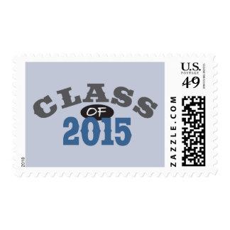 Clase del azul 2015 sellos