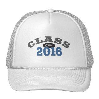 Clase del azul 2016 gorras