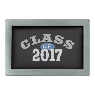 Clase del azul 2017 hebillas cinturon rectangulares