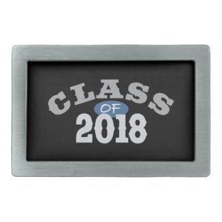 Clase del azul 2018 hebillas de cinturón rectangulares