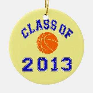 Clase del baloncesto 2013 adornos