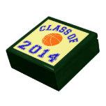 Clase del baloncesto 2014 - naranja/marina de guer cajas de regalo