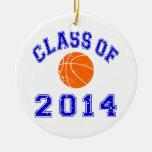 Clase del baloncesto 2014 - naranja/marina de guer adornos