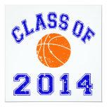 Clase del baloncesto 2014 - naranja/marina de comunicado personal