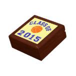 Clase del baloncesto 2015 cajas de joyas