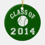 Clase del béisbol 2014 ornamente de reyes