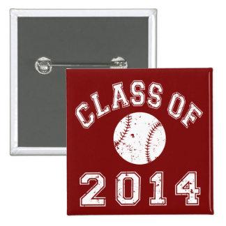 Clase del béisbol 2014 pins