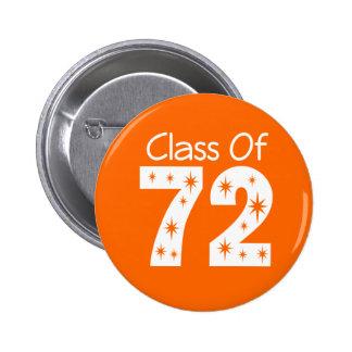 Clase del botón 1972 pin