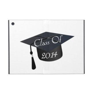 Clase del casquillo 2014 de la graduación iPad mini fundas