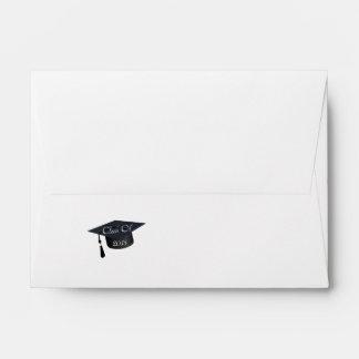 Clase del casquillo 2015 de la graduación sobres