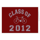 Clase del ciclista 2012 - gris 2.o tarjetas