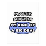 Clase del cirujano plástico… de una gran cosa tarjetas postales