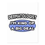 Clase del dermatólogo… de una gran cosa postales