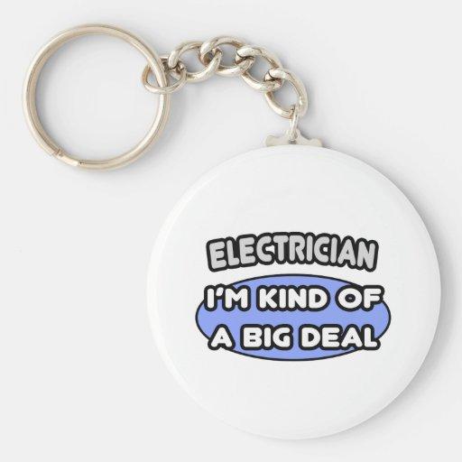 Clase del electricista… de una gran cosa llaveros personalizados