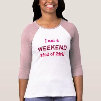 Clase del fin de semana de chica - la camiseta de remera