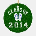 Clase del flip-flop 2014 ornamento para reyes magos