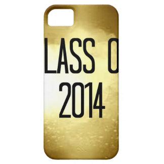 clase del fondo 2014 del oro iPhone 5 Case-Mate funda