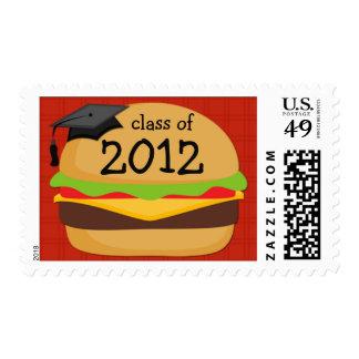 Clase del franqueo 2012 de la graduación del Bbq Timbre Postal