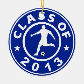 Clase del fútbol 2013 adorno para reyes