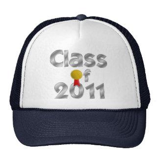Clase del gorra ajustable de plata 2011