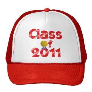 Clase del gorra ajustable rojo 2011