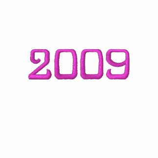 Clase del graduado 2009 sudadera con serigrafia