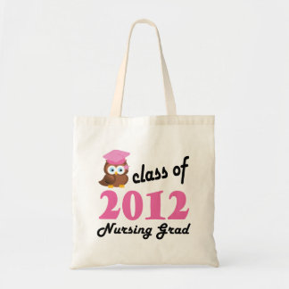 Clase del graduado 2012 del oficio de enfermera bolsas