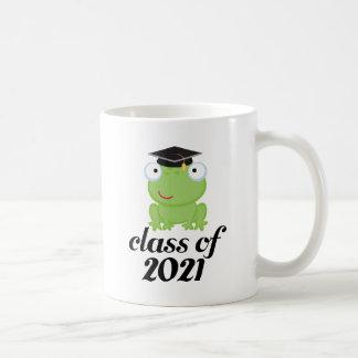 Clase del graduado 2021 de la rana tazas