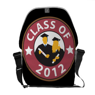 Clase del graduado de 12 bolsa de mensajeria