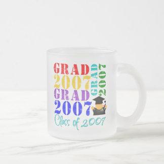 Clase del graduado de 2007 taza
