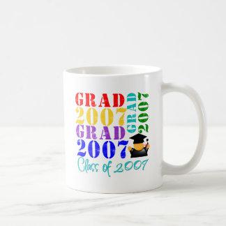 Clase del graduado de 2007 tazas de café