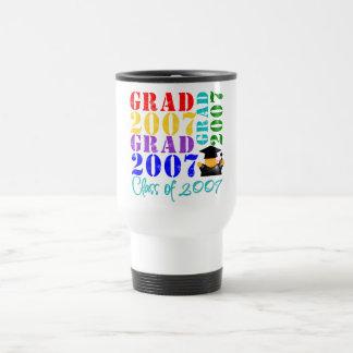 Clase del graduado de 2007 tazas