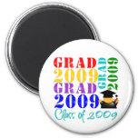 Clase del graduado de 2009 imán para frigorífico