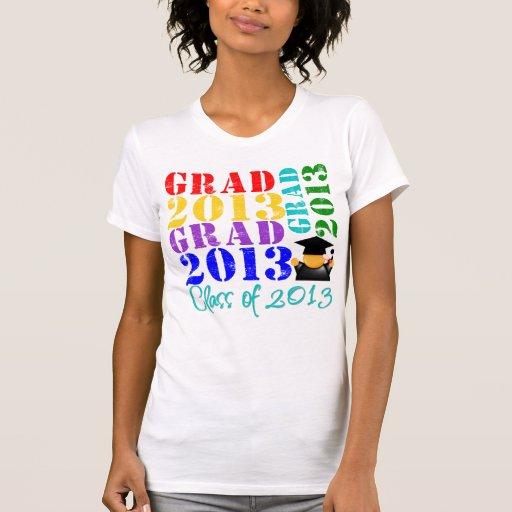 Clase del graduado de 2013 camiseta