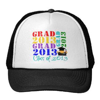 Clase del graduado de 2013 gorro de camionero