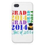 Clase del graduado de 2014 iPhone 4/4S carcasas
