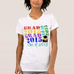 Clase del graduado de 2015 camiseta