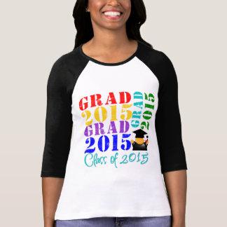 Clase del graduado de 2015 playeras