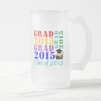 Clase del graduado de 2015 tazas